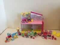 Shopkins Happy Places Happy Home Popette Puppy Parlor Petkins- 100% + Extras!