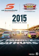 V8 Supercars - Bathurst 1000 Complete Race 2015 (DVD, 2015, 4-Disc Set) New