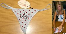 Amanda Paige Signed Playboy Thong Panties PSA/DNA COA Autograph Playmate 10 2005