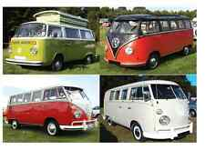 VW CAMPERS NOTECARDS - NEW