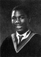 LENNOX LEWIS 1985 Cameron Heights High School Yearbook
