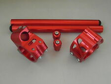 Ensemble Potences de guidon, APRILIA RSV R ( SHOWA Fork ) rouge 53MM