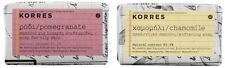 KORRES NATURAL BAR SOAP IN 2 DIFFERENT TYPES CHAMOMILE OR POMEGRANATE 125gr