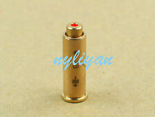 CAL .38 Red Dot Laser Bore Sight  Copper Cartridge Boresighter&battery 4 Hunting
