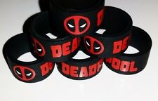 Vape Band Rings 2 x Deadpool Design  19mm x 12mm . RTA RBA RDA MODS .. UK SELLER