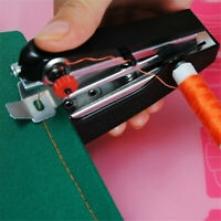 Home Portable Cordless Cordless Fabrics Mini Hand-held Clothes Sewing Machine