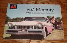 Original 1957 Mercury Foldout Sales Brochure Montclair Monterey 57