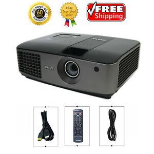 BenQ MX722 DLP Projector 4000 lumens PC 3D Ready HD 1080p HDMI w/Accessories