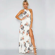 Summer Boho Womens Floral Holiday Long Maxi Dress Ladies Evening Party Sundress