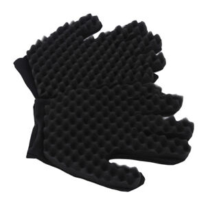 Warm Magic Curly Gloves Wave Coil Mitten Durable Gift Unisex New Hair Care BL