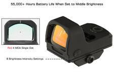 Leapers UTG OP3 Micro Red Dot 4.0 MOA Single Dot, Adaptive Base, IPX7  OP-RDM20R