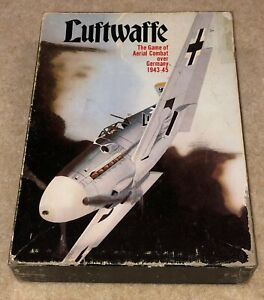 Luftwaffe: The Game of Aerial Combat Over Germany 1943-45, Avalon Hill, Complete