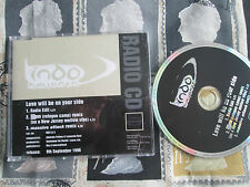 Indo Aminata Love Will Be On Your Side Manifesto INDCJ 1 Promo UK CD Maxi-Single