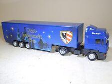 ++ H0 1/87 Biertruck MAN TGA Sattelzug Tucher Christkindlesmarkt Wappen Nürnberg