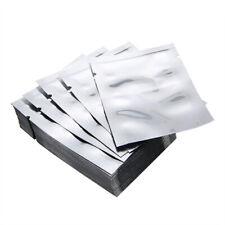 100-500PCS Bolsa de lámina de aluminio de Mylar sellador de vacío bolsa de paquete de almacenamiento de alimentos