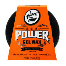Rolda Professional Power Gel Wax Shine Finish/Extra Strong Hold 3.53oz/Nail File