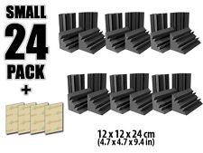New 12*12*24cm Bass Trap Acoustic Foam Studio Sound Treatment 24 pcs Set