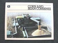 1982 1983 JOHN DEERE 4420 6620 7720 8820 TITAN CORN BEAN COMBINE BROCHURE MINTY