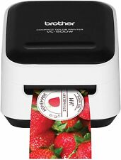 Brother VC-500W Versatile Compact Color Label Photo Printer Wireless Networking