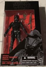 STAR WARS BLACK SERIES IMPERIAL DEATH TROOPER # 25, 6 inch FIGURE