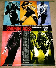 27x40 POSTER Smokin' Aces 2007 The Hit Goes Down BEN AFFLECK Jason Bateman