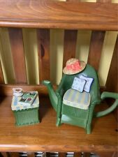 Figural Teapot-Easy Chair with Ottoman