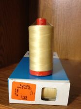 #2123~AURIFIL QUILTING & SEWING 100% COTTON THREAD~BUTTER YELLOW~50WT~MK50