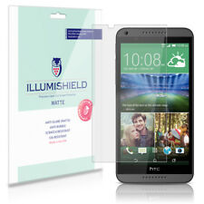 iLLumiShield Matte Screen Protector w Anti-Glare/Print 3x for HTC Desire 816