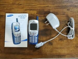 Samsung SGH-C225 Blue/Silver Tmobile cell phone GREAT CONDITION 👍 👌