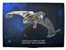 Star Trek Starships Klingon Patrol Ship Vehicle & Magazine