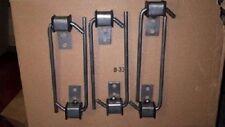 Exhaust Hanger 3/8 J hook  6  PACK Universal w/ Rubber Grommet