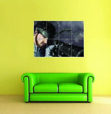 Solid SNAKE METAL GEAR SOLID GIANT POSTER STAMPA FOTO