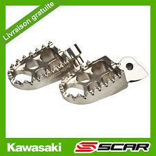 REPOSE CALE PIED EVO KAWASAKI KX-F KXF 250 450 KX250F KX450F TITANE SCAR RACING