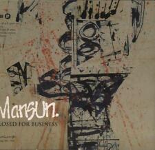 Mansun(CD Single)Closed For Business-VG