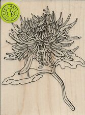 """Mum Flower"" Rubber Stamp by Hero Arts"