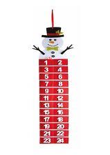 Snowman Felt Advent Calendar Xmas Christmas