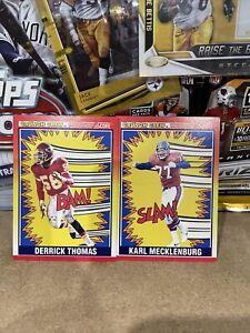 NFL Card Lot X2 Rare Crunch Crew Inserts 1990's 🏈🔥