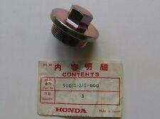HONDA SL350 CB450 CL450 CB350 CL350 SL175 NOS DRAIN BOLT CB175 CL175 XL175 CA175