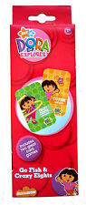 DORA THE EXPLORER ~GO FISH & CRAZY 8'S~ CARD GAME SET
