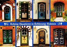 Schöne Haustüren in Schleswig-Holstein , Ansichtskarte