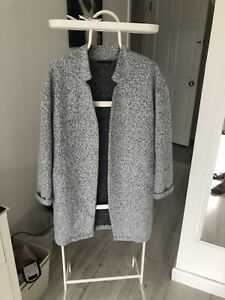 Grey Coatigan Size 10 Marks & Spencer's, Unlined, Excellent Condition