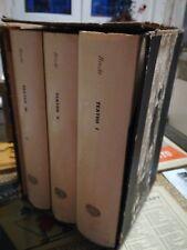 Bertolt Brecht TEATRO 1963 Prima edizione 3 voll in cofanetto Einaudi Castellani