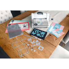Big Shot Plus Sizzix Die Cutting Embossing Machine Starter Kit Bundle Scrapbook