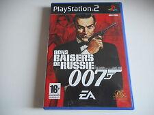 JEU PLAYSTATION 2 - BONS BAISERS DE RUSSIE 007 ( avec notice )