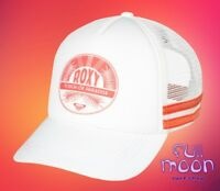 New Roxy Dig This Womens Touch of Paradise Trucker Snapback Cap Hat