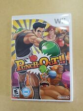 Punch-Out Punchout Nintendo Wii Game Complete! Case Manual Disc