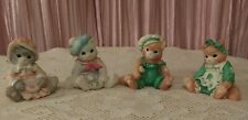Lot of 4 1993 Calico Kittens By Enesco
