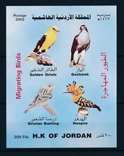 [40977] Jordan 2002 Birds Vögel Oiseaux Ucelli  MNH Sheet