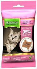 Natures Menu- 3 packs of Chicken & Liver cat treats with 95% REAL MEAT G Free