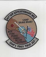 PATCH USAF 347TH AIR EXPEDITIONARY WING AEW CAMP BRAVEHEART           J